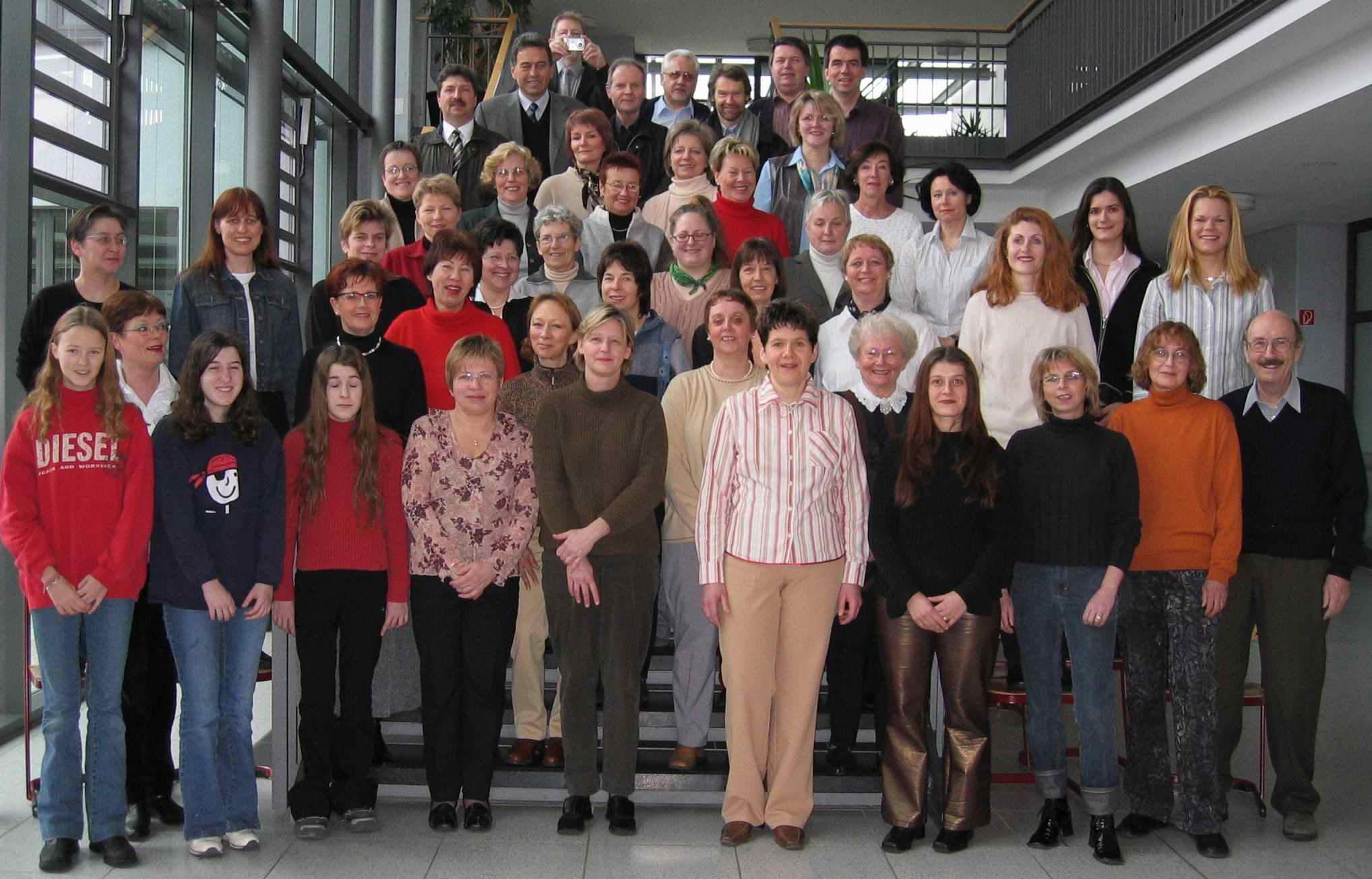 Projektchor Canto Allegro im Jahre 2004