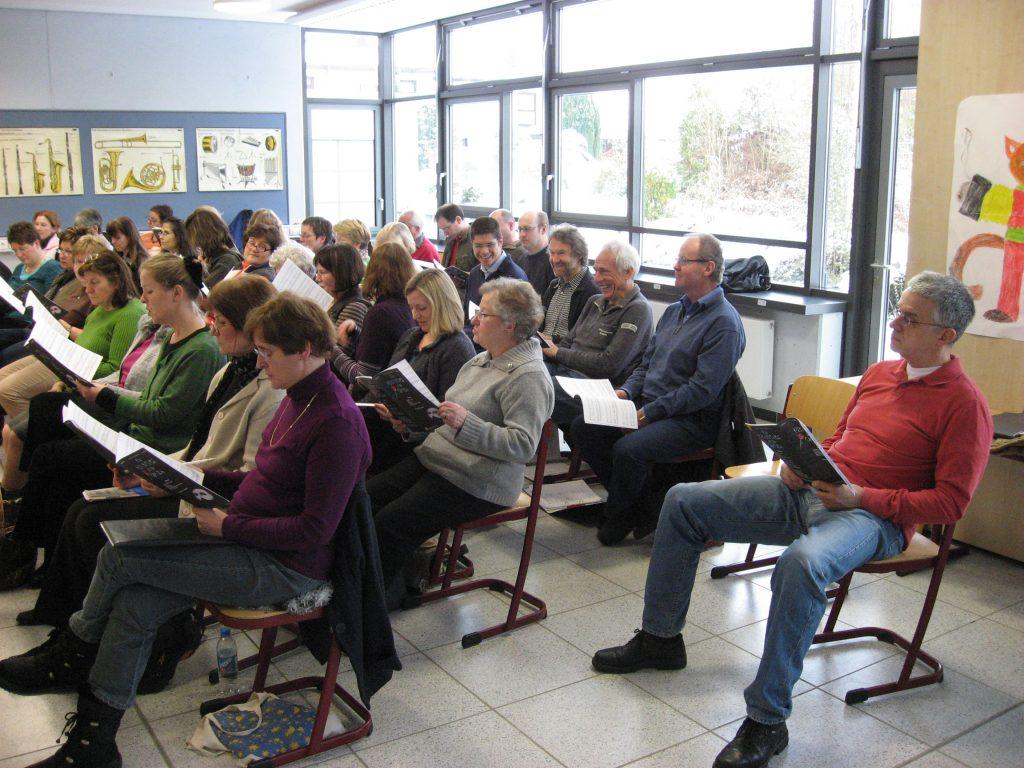 Canto Allegro Singnachmittag am 30. Januar 2010