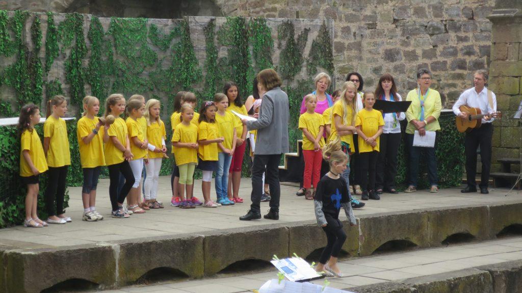 Matinee-Konzert im Burggraben am 3. Juli 2016