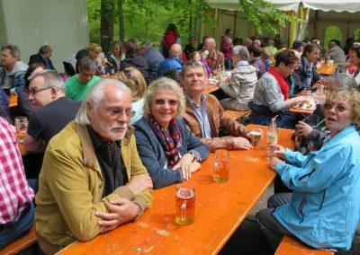 1.Mai Waldfest 2016 bei der Lutz-Sigelhütte