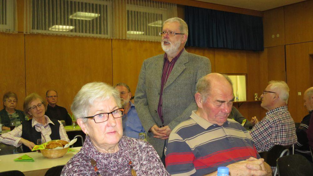 Jahreshaupversammlung am 5. Februar 2016 im kath. Gemeindehaus