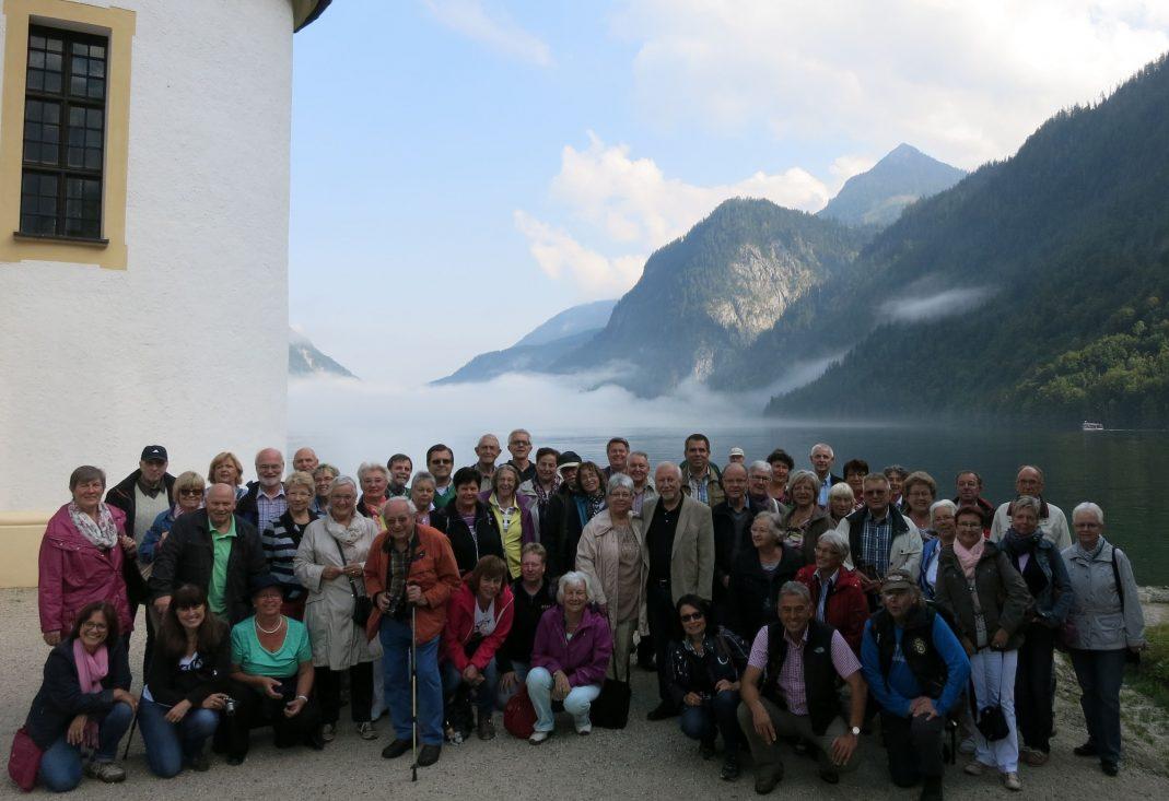 Ausflug Liederkranz 2014: Salzburg - Königsee - Berchtesgaden