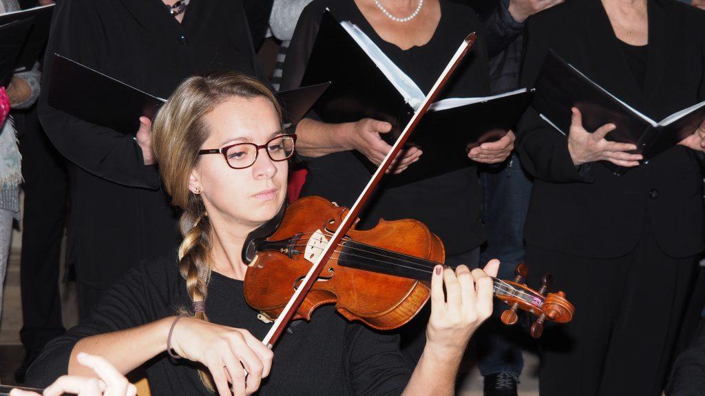Kirchenkonzert am 4. November 2017 - Kathrin Finke an der Geige