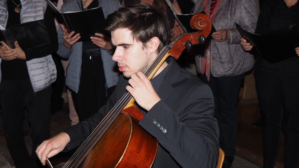Kirchenkonzert am 4. November 2017 - Marius Sommer am Violoncello