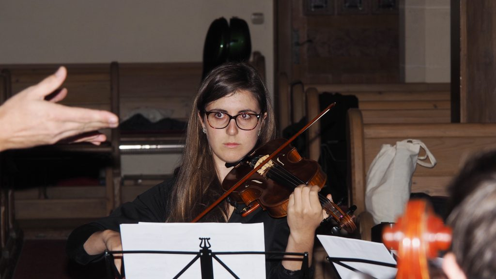 Kirchenkonzert am 4. November 2017 - Clarissa Oesterle  an der Geige