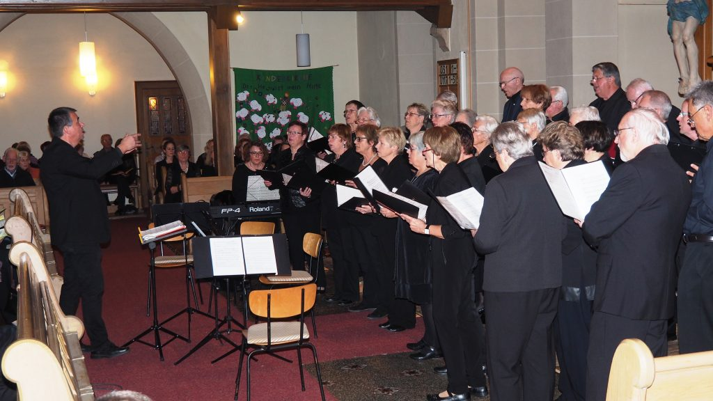 Kirchenkonzert am 4. November 2017 - Liederkranz