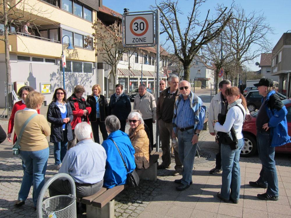 Besenwanderung 12. März 2011 Seeger Abstatt