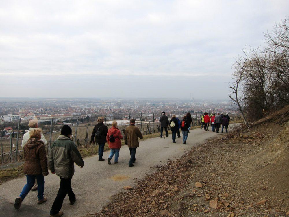 Besenwanderung 10. März 2012 Zaiß Heilbronn