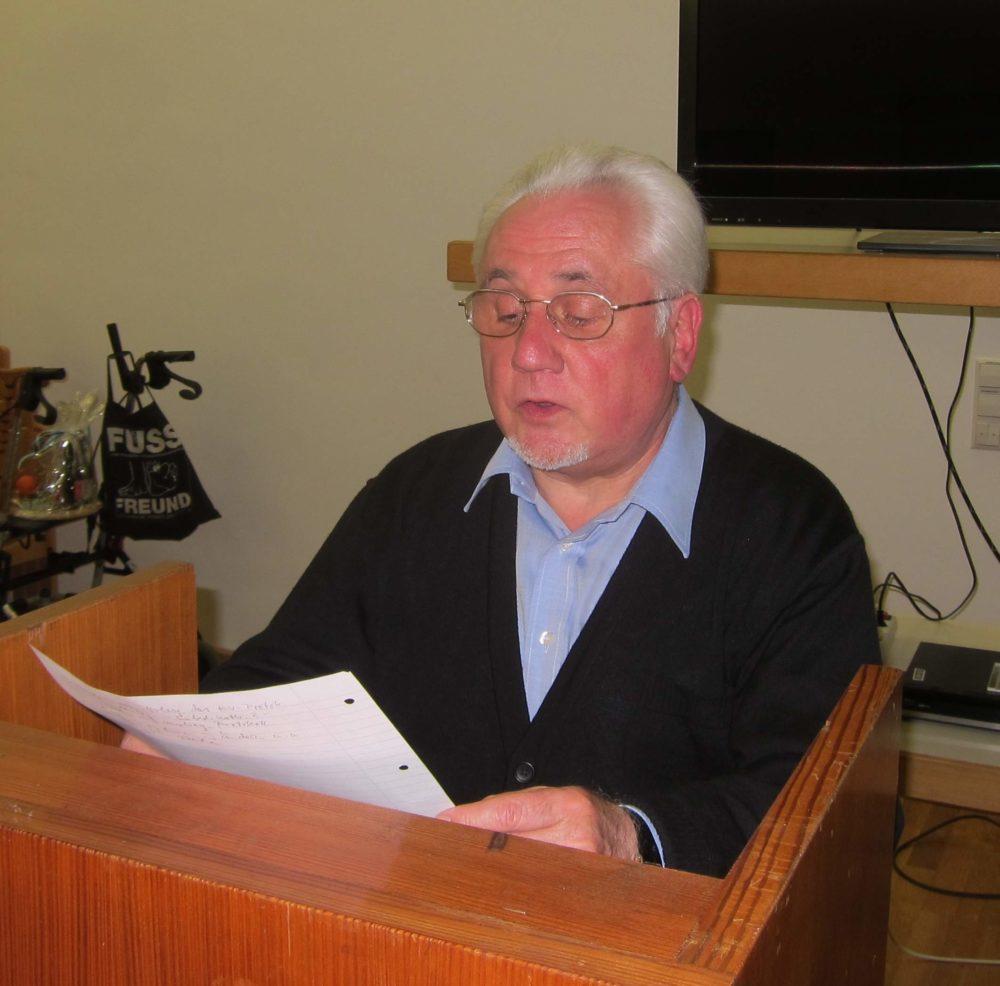 Jahreshauptversammlung am 7. Februar 2014
