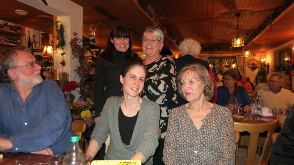 Besenwanderung 28. Februar 2015 Zaiß Heilbronn