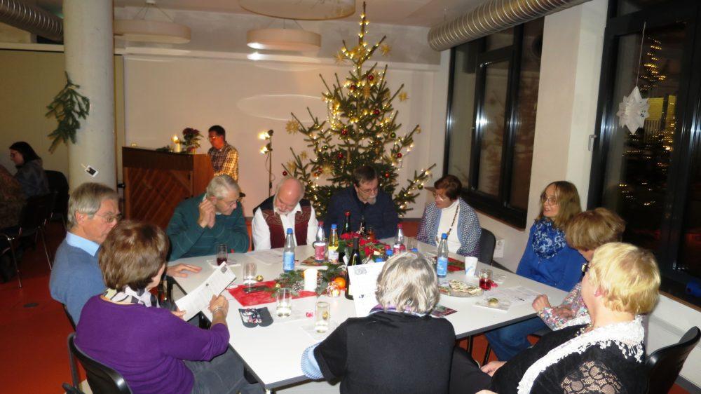 Weihnachtsfeier am 12.Dezember 2017