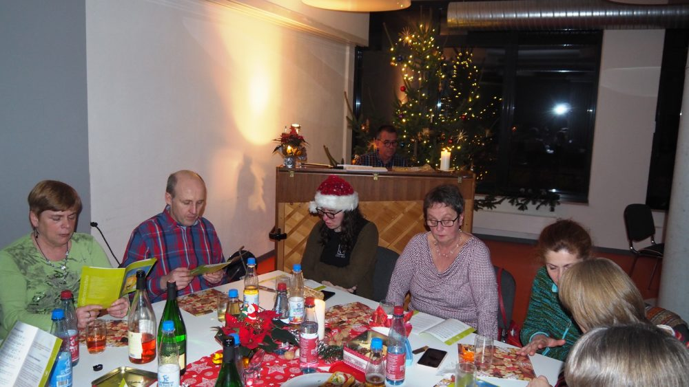 Weihnachtsfeier am 18. Dezember 2018