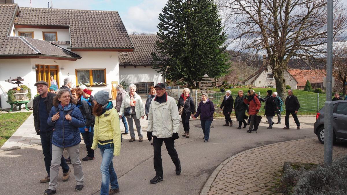 Besenwanderung 16. März 2019 Zaiß Heilbronn