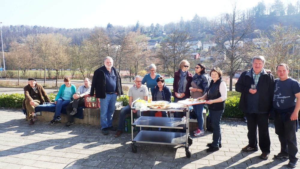 Frühjahrskonzert 30. März 2019 - Abbaumannschaft