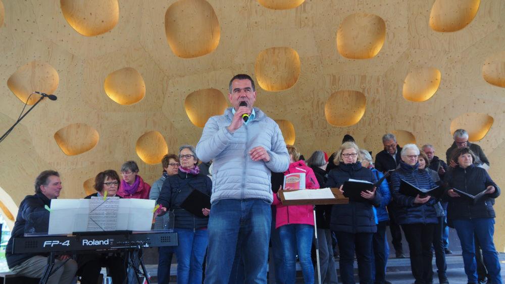 Bundesgartenschau Heilbronn Liederkranz und Canto Allegro 4. Mai 2019
